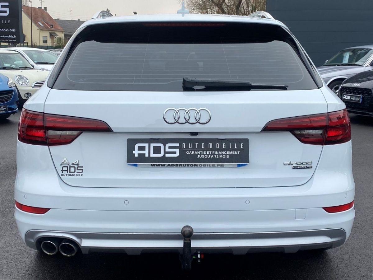 Audi A4 Allroad 2.0 TDI 190ch Design Luxe quattro Str BLANC - 8