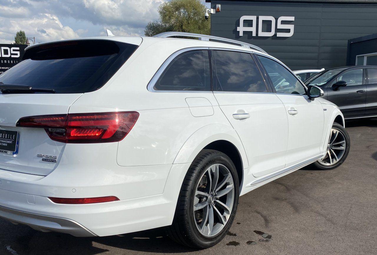 Audi A4 Allroad 2.0 TDI 190ch Design Luxe quattro Str BLANC - 10