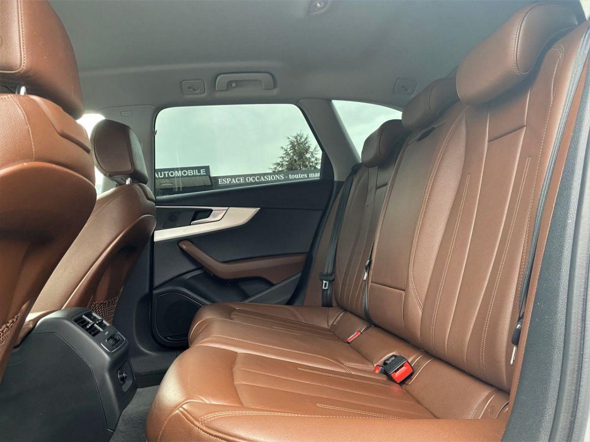 Audi A4 Allroad 2.0 TDI 190ch Design Luxe quattro Str BLANC - 14