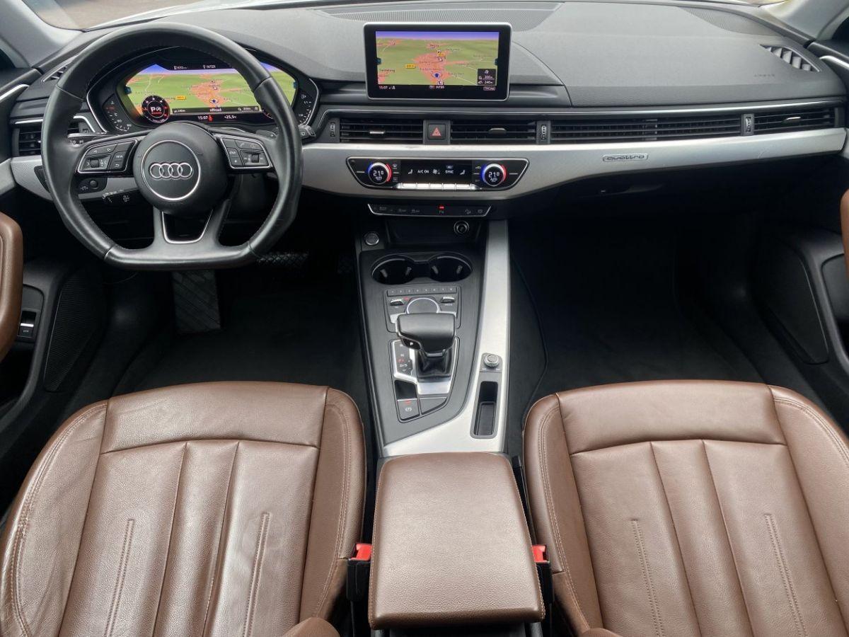 Audi A4 Allroad 2.0 TDI 190ch Design Luxe quattro Str BLANC - 17