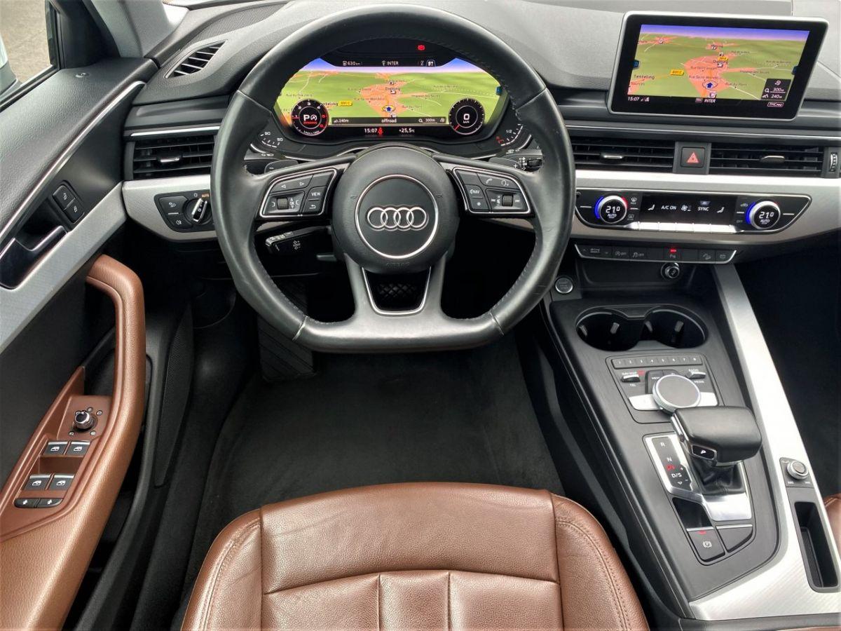 Audi A4 Allroad 2.0 TDI 190ch Design Luxe quattro Str BLANC - 18