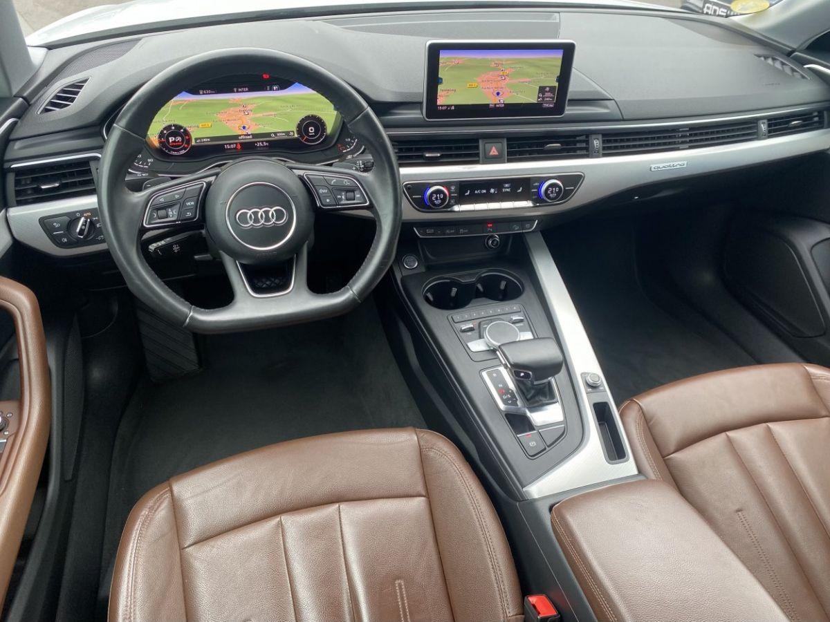 Audi A4 Allroad 2.0 TDI 190ch Design Luxe quattro Str BLANC - 21