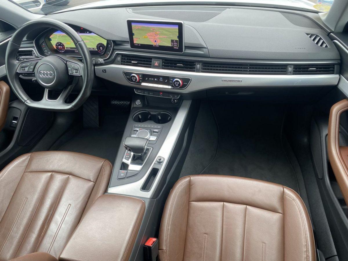 Audi A4 Allroad 2.0 TDI 190ch Design Luxe quattro Str BLANC - 25