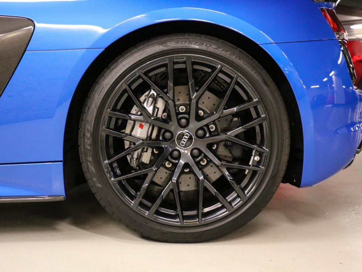 Audi R8 Spyder AUDI R8 II SPYDER 5.2 V10 PLUS FSI QUATTRO S TRONIC Bleu Métallisé - 13