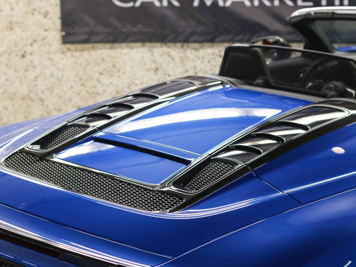 Audi R8 Spyder AUDI R8 II SPYDER 5.2 V10 PLUS FSI QUATTRO S TRONIC Bleu Métallisé - 15