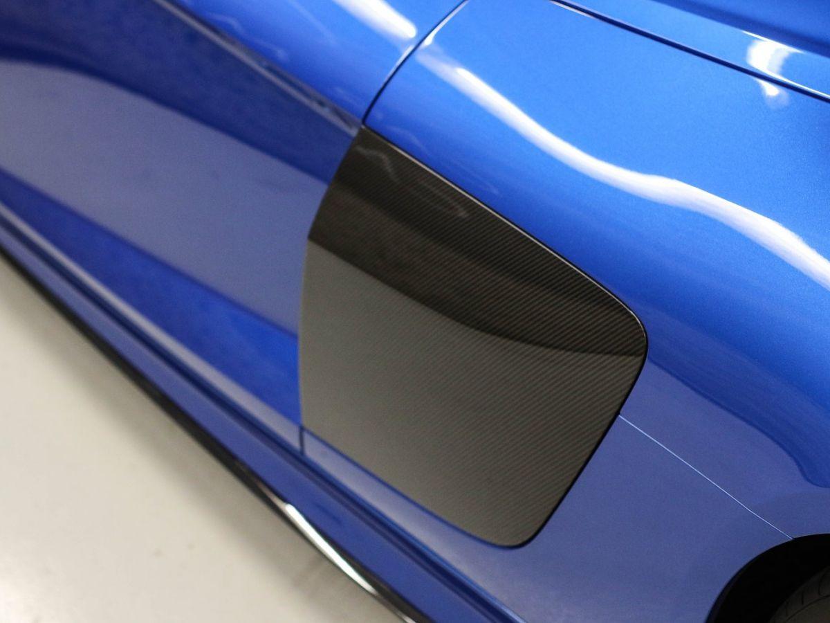 Audi R8 Spyder AUDI R8 II SPYDER 5.2 V10 PLUS FSI QUATTRO S TRONIC Bleu Métallisé - 16