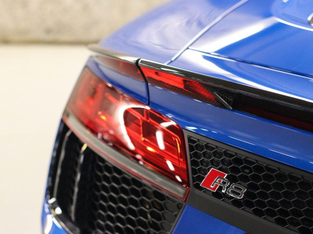 Audi R8 Spyder AUDI R8 II SPYDER 5.2 V10 PLUS FSI QUATTRO S TRONIC Bleu Métallisé - 22