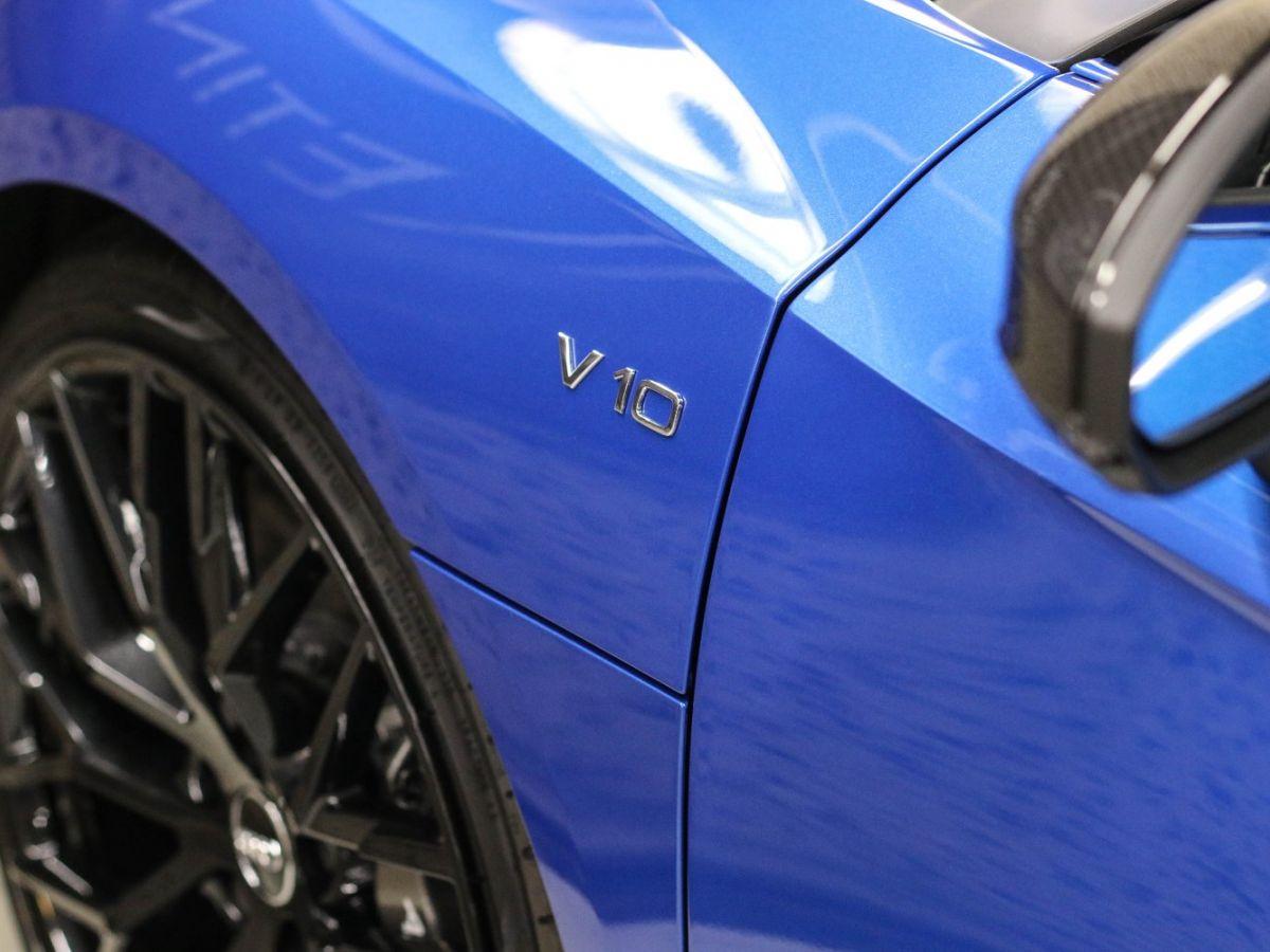 Audi R8 Spyder AUDI R8 II SPYDER 5.2 V10 PLUS FSI QUATTRO S TRONIC Bleu Métallisé - 23