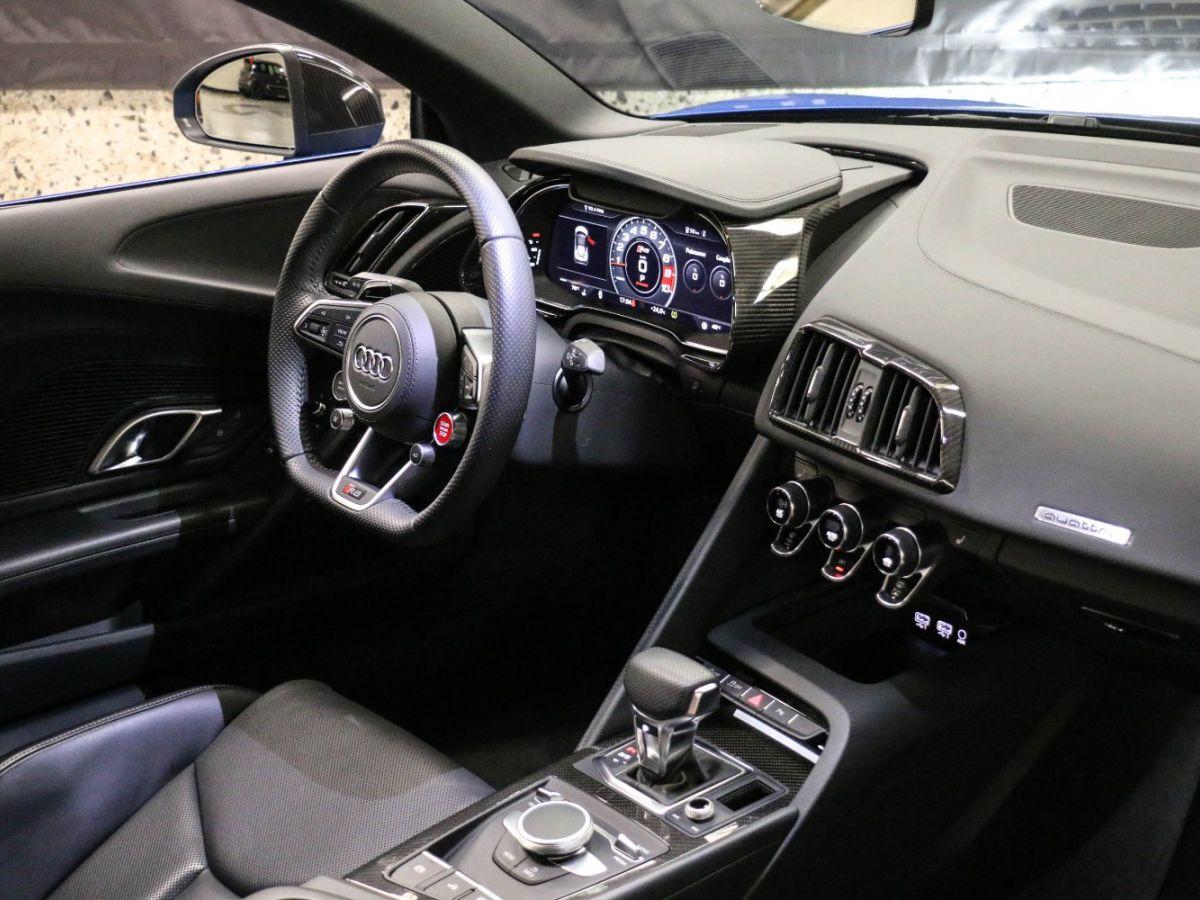 Audi R8 Spyder AUDI R8 II SPYDER 5.2 V10 PLUS FSI QUATTRO S TRONIC Bleu Métallisé - 51
