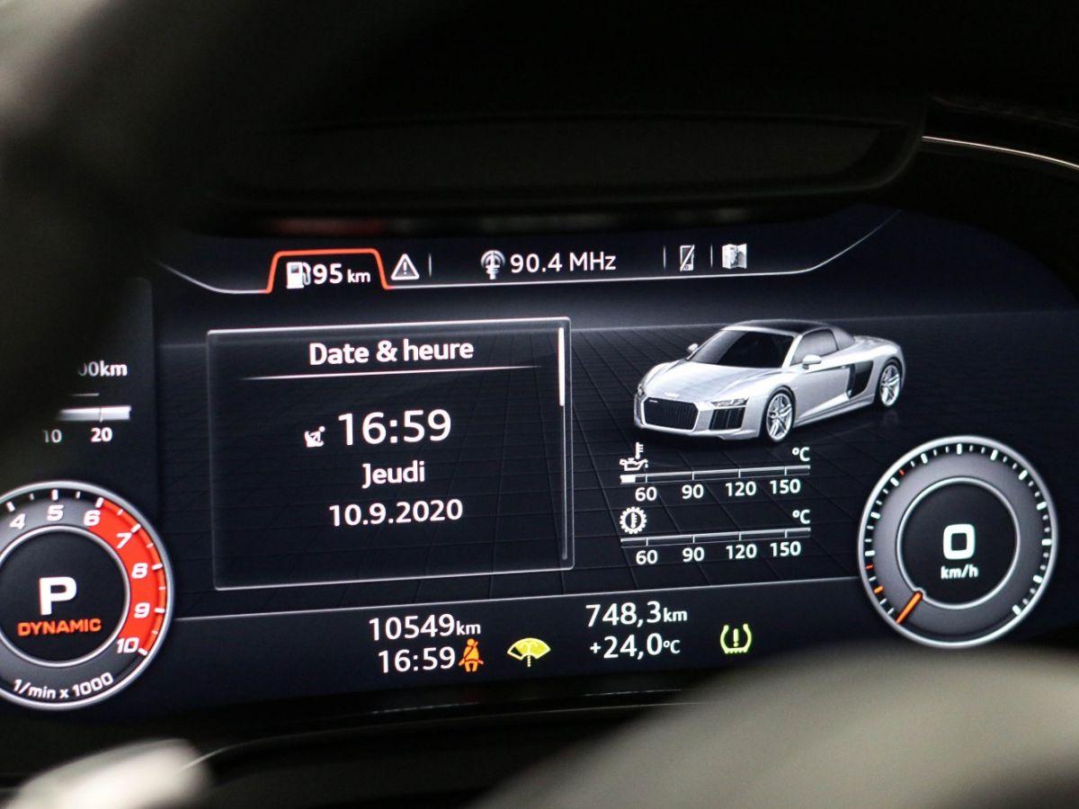 Audi R8 Spyder AUDI R8 II SPYDER 5.2 V10 PLUS FSI QUATTRO S TRONIC Bleu Métallisé - 53