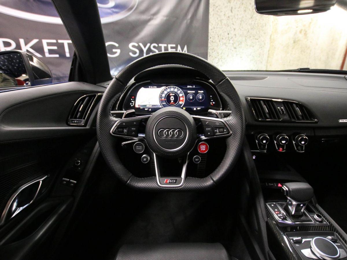 Audi R8 Spyder AUDI R8 II SPYDER 5.2 V10 PLUS FSI QUATTRO S TRONIC Bleu Métallisé - 57