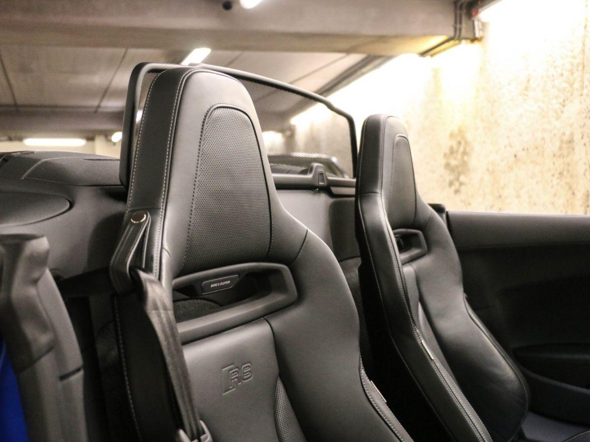 Audi R8 Spyder AUDI R8 II SPYDER 5.2 V10 PLUS FSI QUATTRO S TRONIC Bleu Métallisé - 60