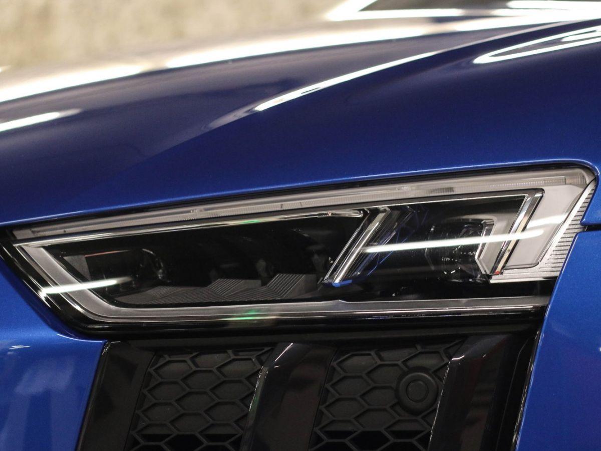 Audi R8 Spyder AUDI R8 II SPYDER 5.2 V10 PLUS FSI QUATTRO S TRONIC Bleu Métallisé - 47