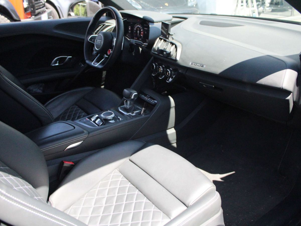 Audi R8 V10 5.2 FSI 540 S Tronic 7 Quattro Gris - 9