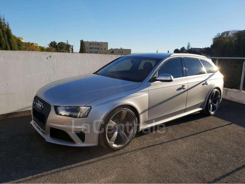 Audi RS4 (4E GENERATION) AVANT IV AVANT 4.2 V8 FSI 450 QUATTRO S TRONIC 7 Gris Clair - 1