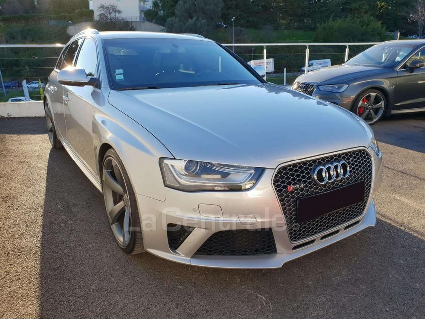 Audi RS4 (4E GENERATION) AVANT IV AVANT 4.2 V8 FSI 450 QUATTRO S TRONIC 7 Gris Clair - 2