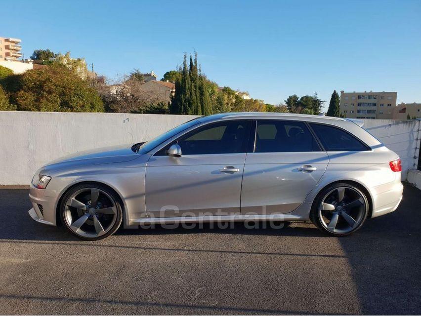 Audi RS4 (4E GENERATION) AVANT IV AVANT 4.2 V8 FSI 450 QUATTRO S TRONIC 7 Gris Clair - 3