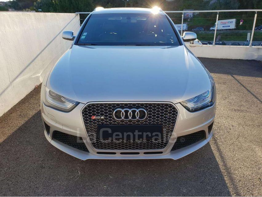 Audi RS4 (4E GENERATION) AVANT IV AVANT 4.2 V8 FSI 450 QUATTRO S TRONIC 7 Gris Clair - 4