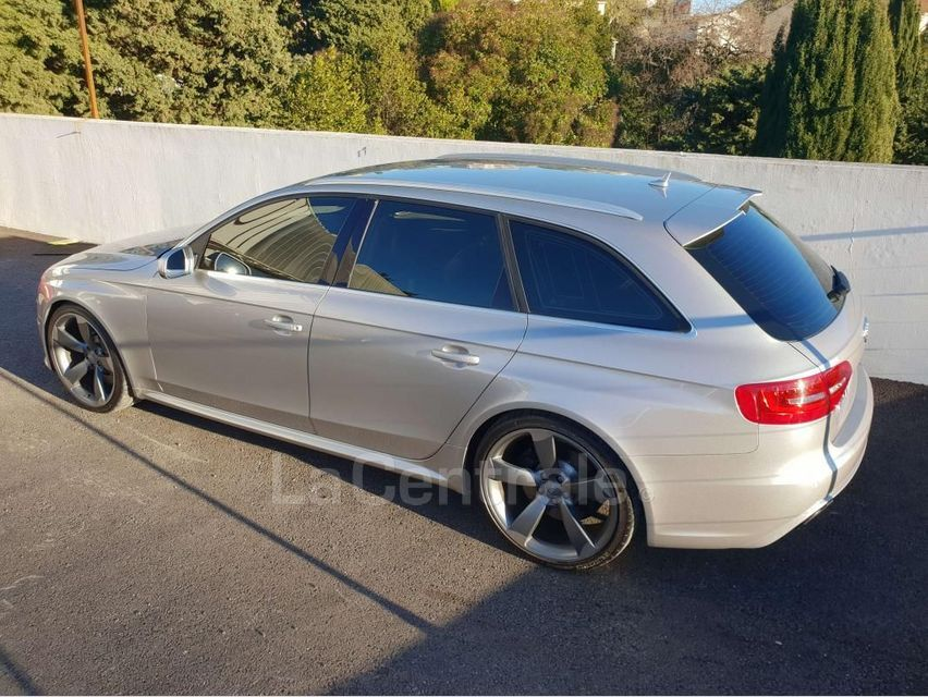 Audi RS4 (4E GENERATION) AVANT IV AVANT 4.2 V8 FSI 450 QUATTRO S TRONIC 7 Gris Clair - 12