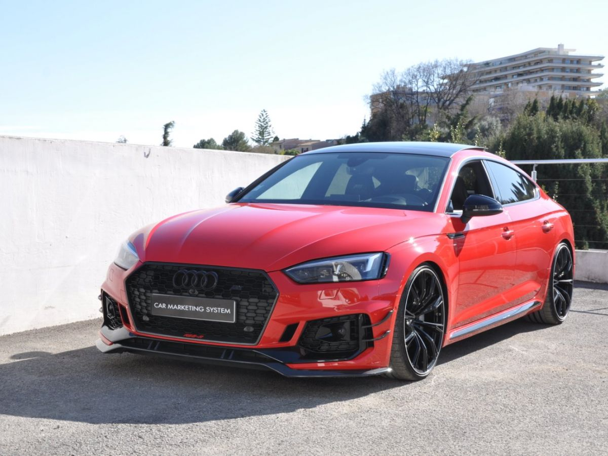 Audi RS5 SPORTBACK R ABT 530CH 1 Of 50 Rouge - 1