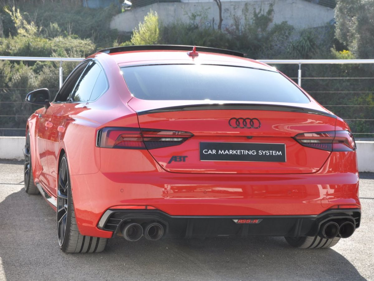 Audi RS5 SPORTBACK R ABT 530CH 1 Of 50 Rouge - 7
