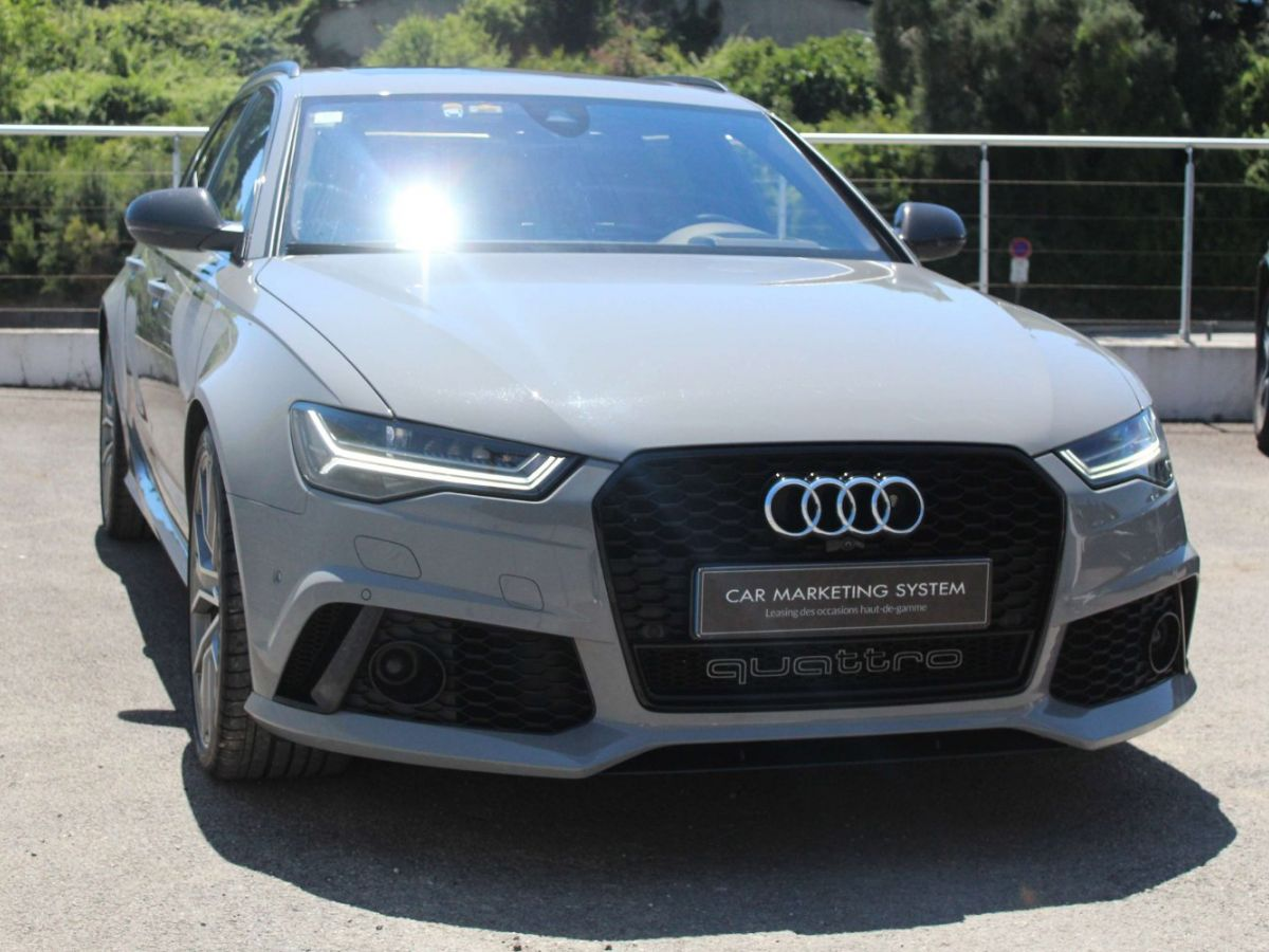 Audi RS6 Performance V8 4.0 TFSI 605 Quattro Tiptronic 8 Gris Clair - 3