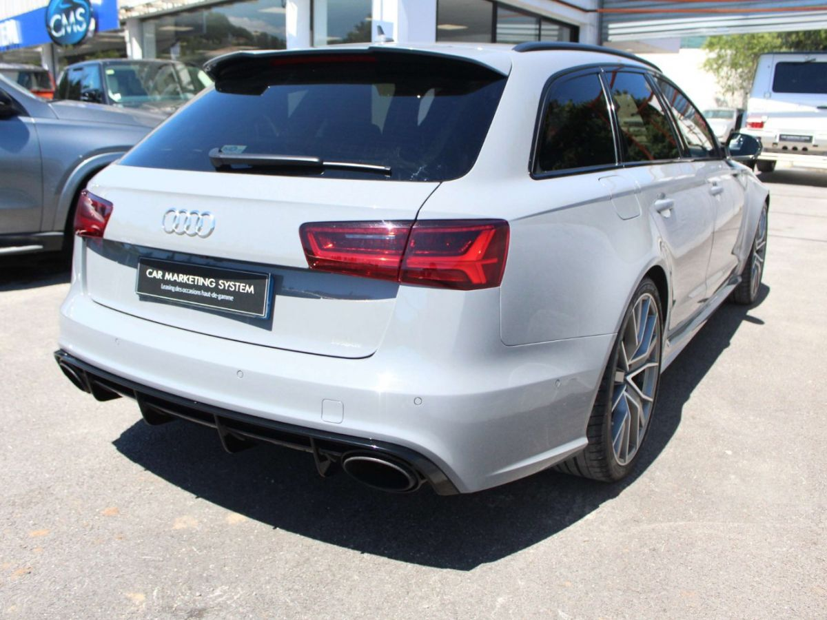 Audi RS6 Performance V8 4.0 TFSI 605 Quattro Tiptronic 8 Gris Clair - 7