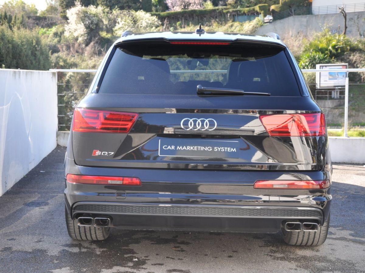 Audi SQ7 (2) 4.0 TDI 435 QUATTRO TIPTRONIC 7PL Noir - 5