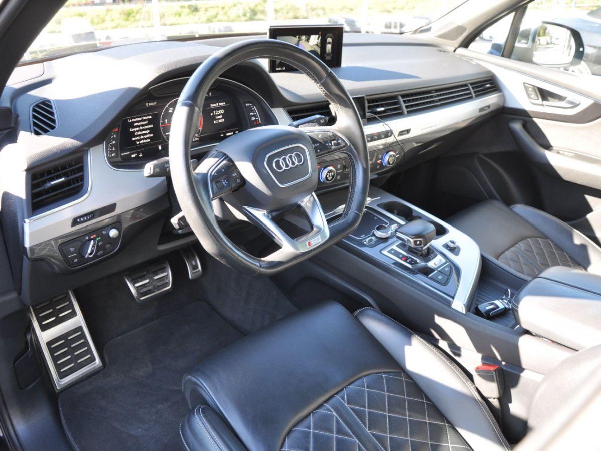 Audi SQ7 (2) 4.0 TDI 435 QUATTRO TIPTRONIC 7PL Noir - 7