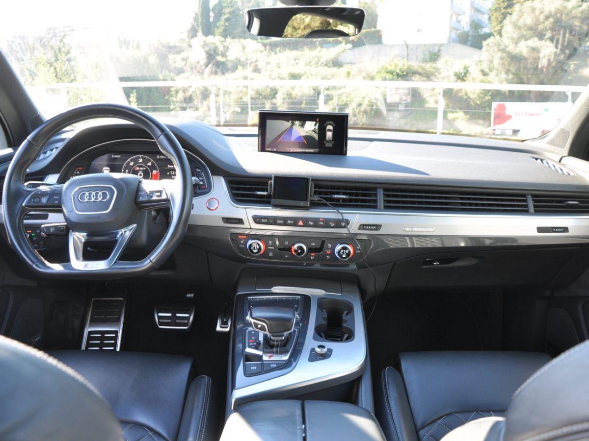 Audi SQ7 (2) 4.0 TDI 435 QUATTRO TIPTRONIC 7PL Noir - 11