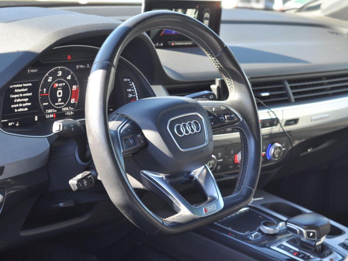 Audi SQ7 (2) 4.0 TDI 435 QUATTRO TIPTRONIC 7PL Noir - 23