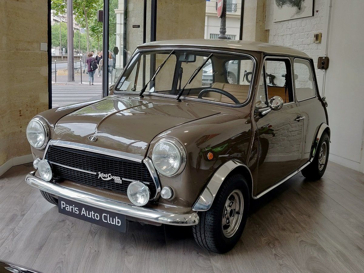 Austin MINI Innocenti 1300 Marron taupe Vendu - 1
