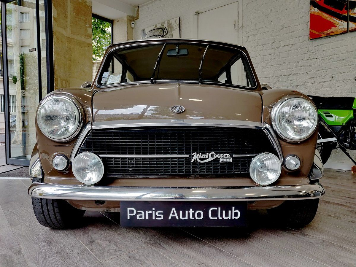 Austin MINI Innocenti 1300 Marron taupe Vendu - 2