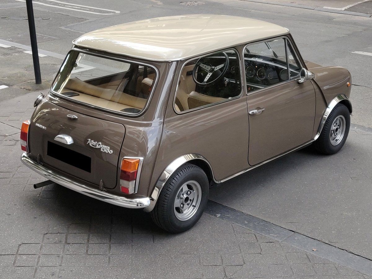 Austin MINI Innocenti 1300 Marron taupe Vendu - 4