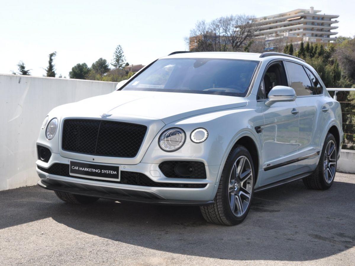 Bentley Bentayga V8 4.0 435ch Gris Clair - 1
