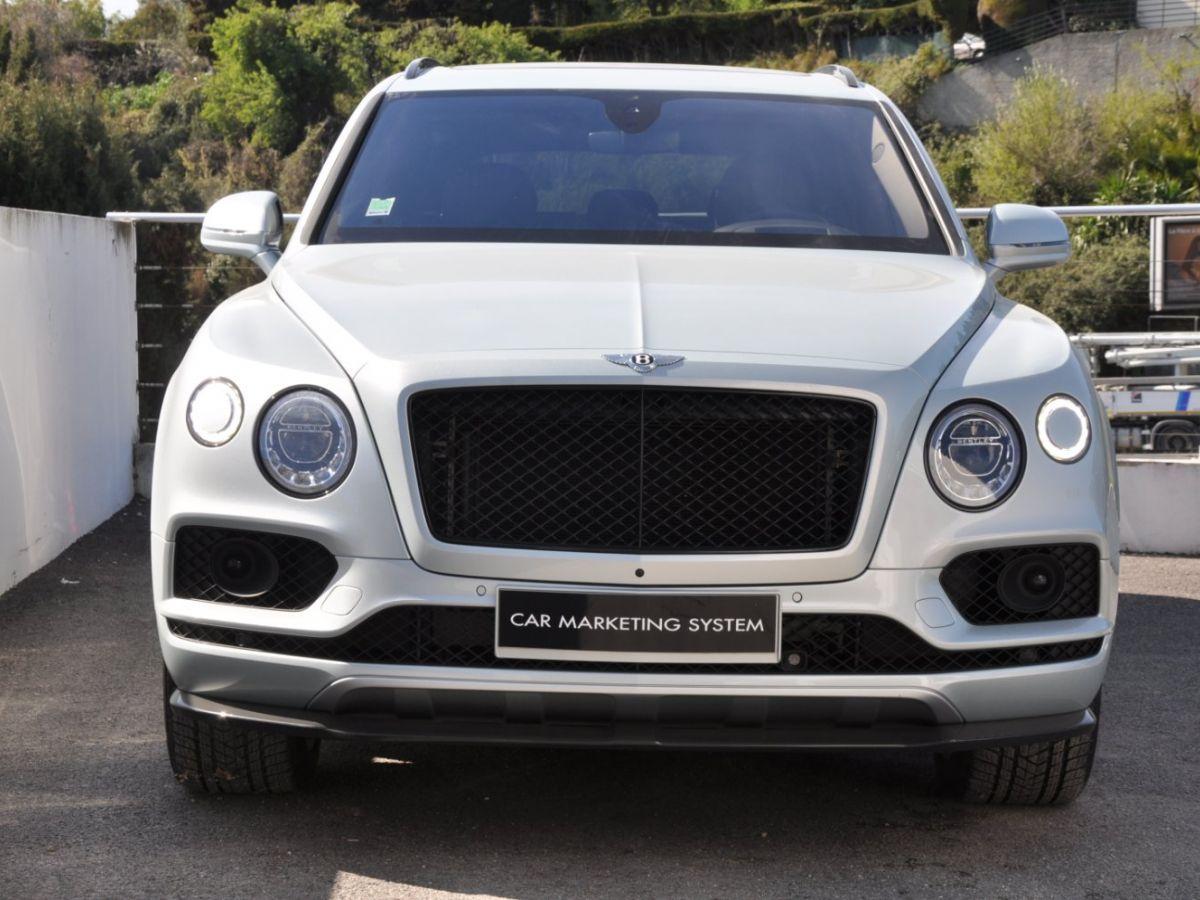 Bentley Bentayga V8 4.0 435ch Gris Clair - 2