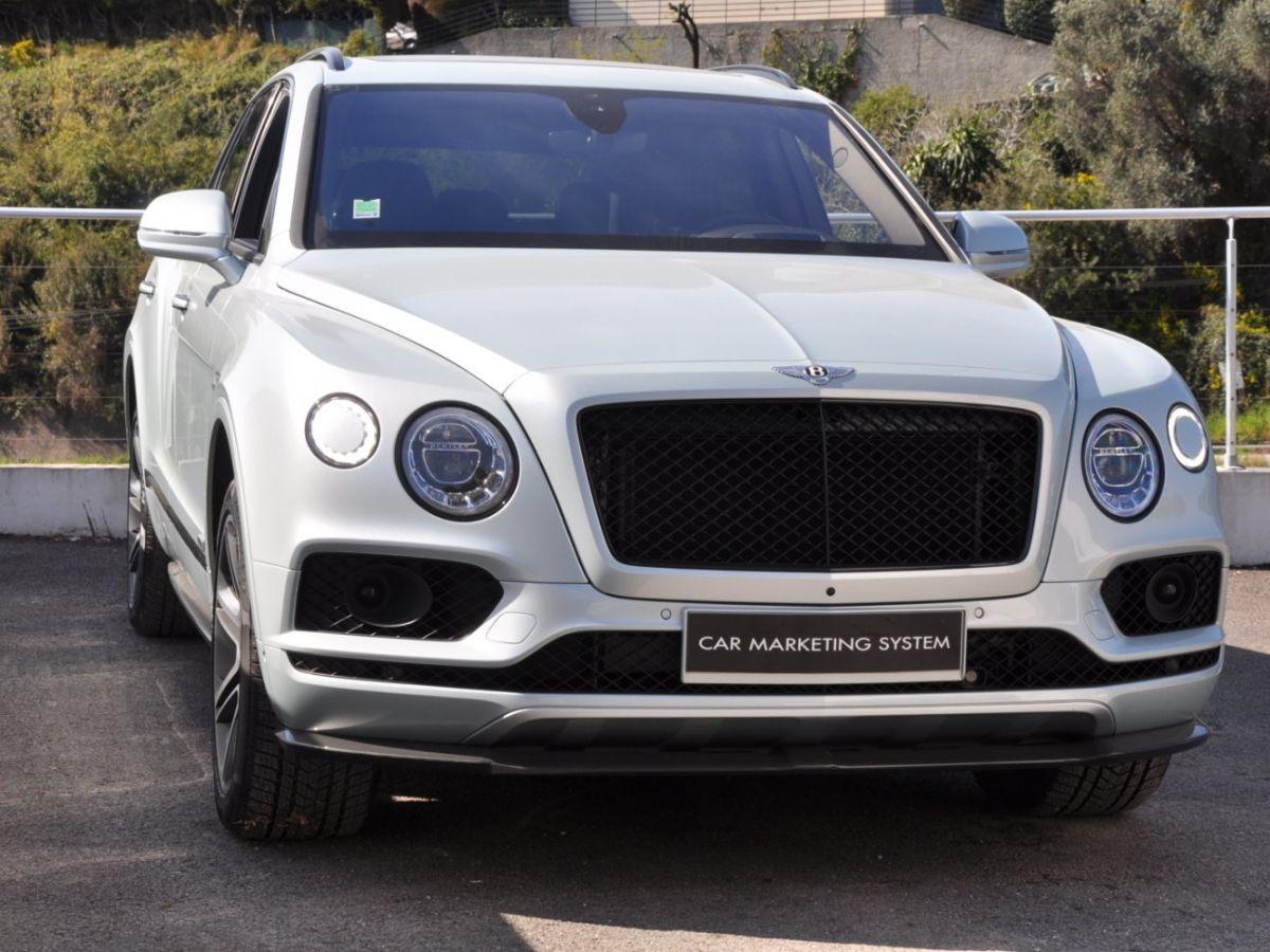 Bentley Bentayga V8 4.0 435ch Gris Clair - 3