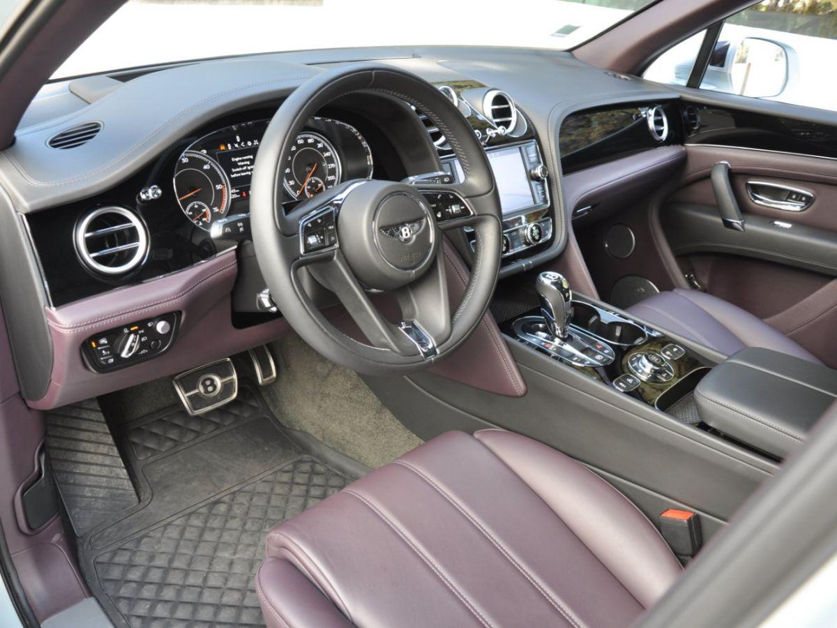 Bentley Bentayga V8 4.0 435ch Gris Clair - 8