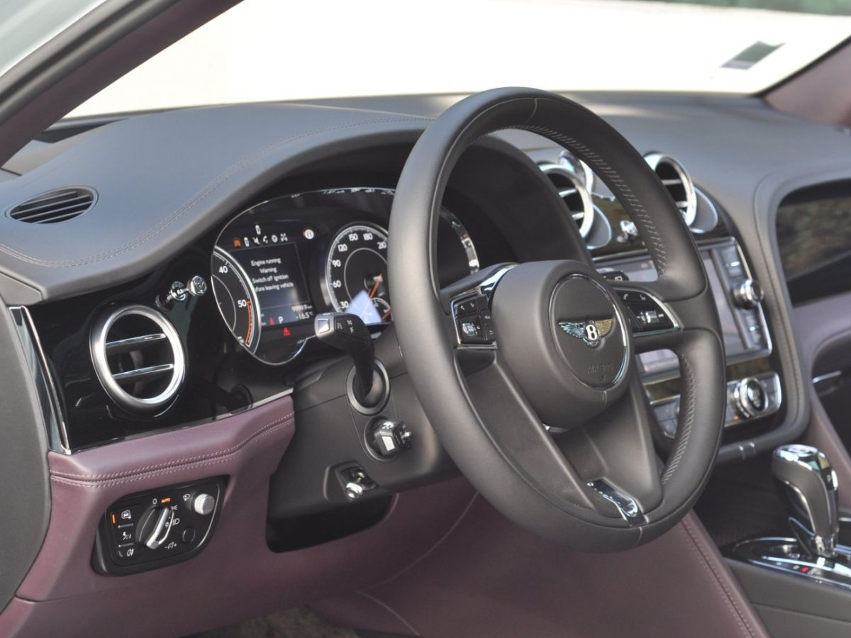 Bentley Bentayga V8 4.0 435ch Gris Clair - 25