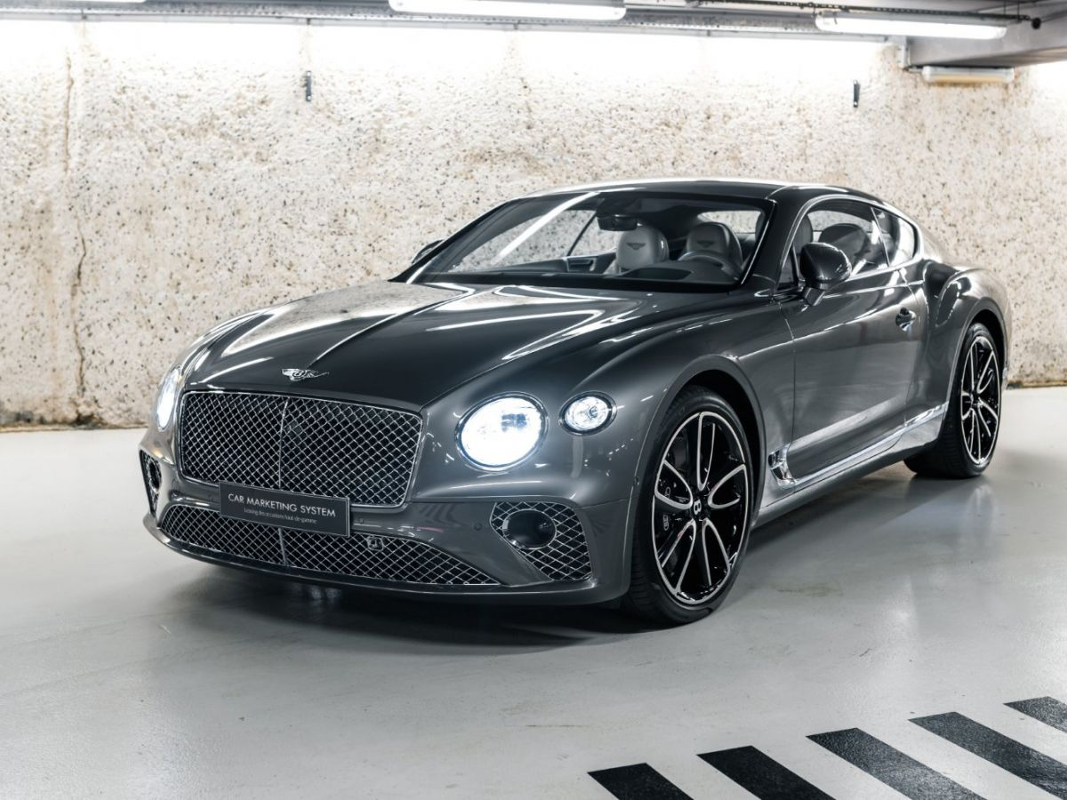 Bentley Continental GT III 6.0 W12 CENTENARY Gris Foncé - 2