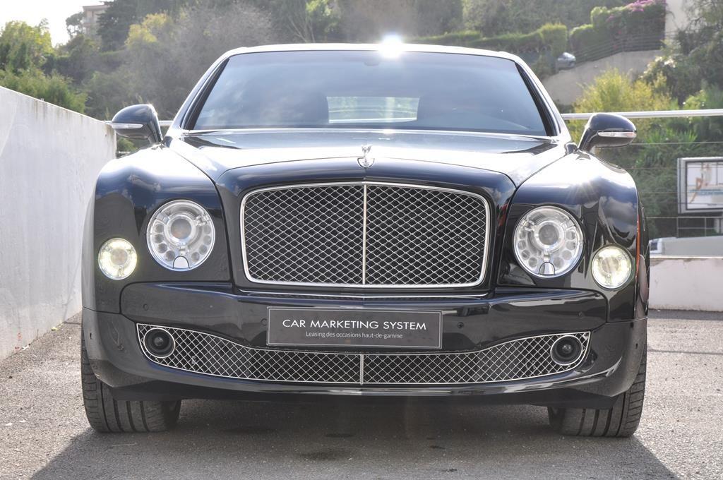 Bentley Mulsanne Mulliner V8 6.75 Noir Métal - 3
