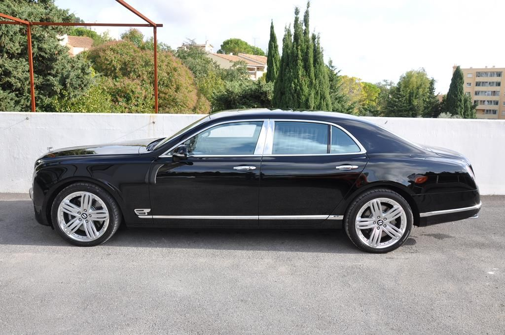 Bentley Mulsanne Mulliner V8 6.75 Noir Métal - 4
