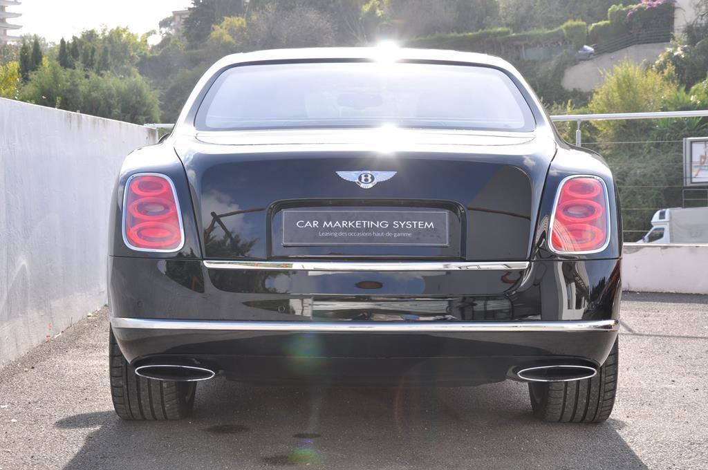 Bentley Mulsanne Mulliner V8 6.75 Noir Métal - 5