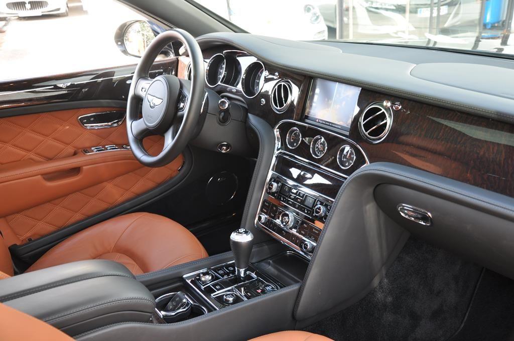 Bentley Mulsanne Mulliner V8 6.75 Noir Métal - 10