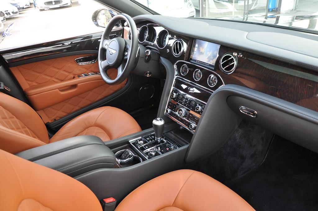 Bentley Mulsanne Mulliner V8 6.75 Noir Métal - 11