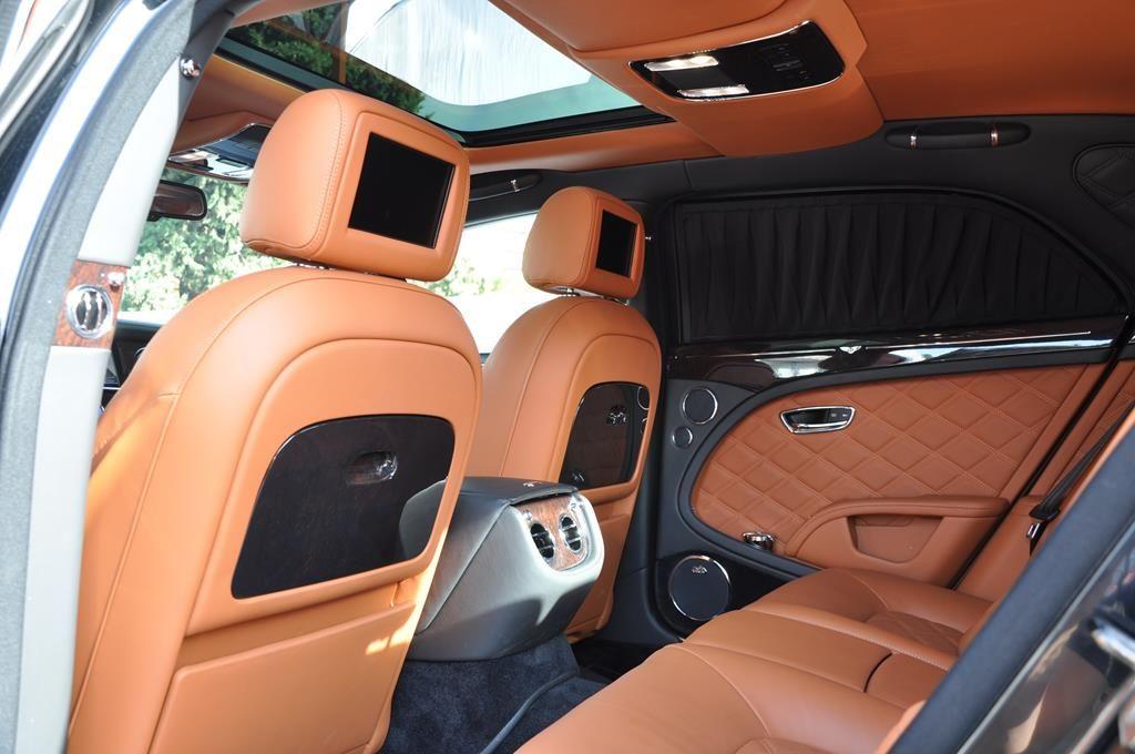 Bentley Mulsanne Mulliner V8 6.75 Noir Métal - 17