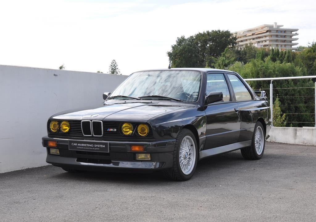 BMW M3 E30 Coupe Diamantschwarz Metallic - 1