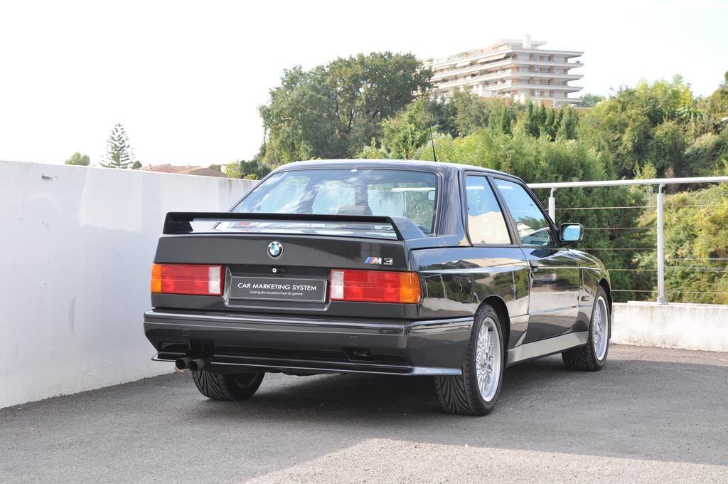 BMW M3 E30 Coupe Diamantschwarz Metallic - 5