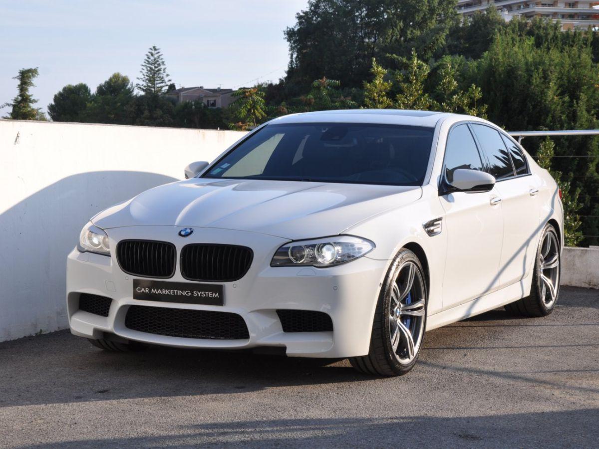 BMW M5 F10 M 560ch DKG7 Blanc - 1