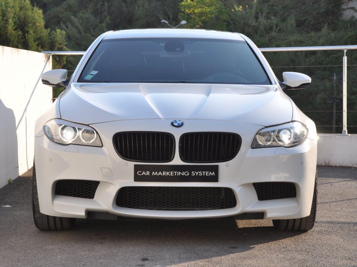 BMW M5 F10 M 560ch DKG7 Blanc - 2